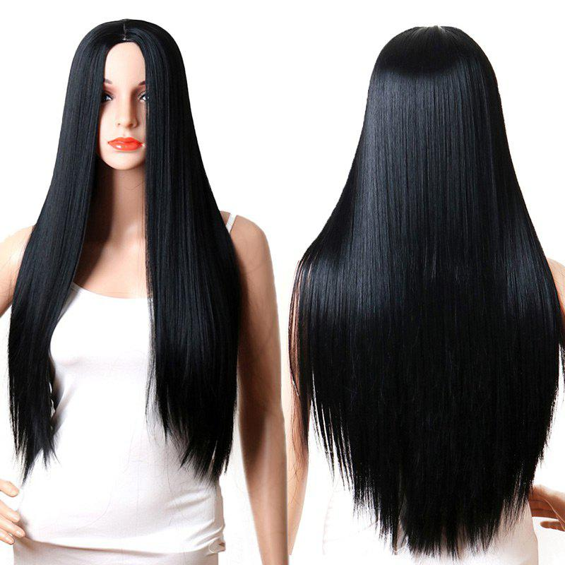 Long Capless Center Parting Straight Synthetic Wig nokotion brand new qcl00 la 8241p cn 06d5dg 06d5dg 6d5dg for dell inspiron 15r 5520 laptop motherboard hd7670m 1gb graphics