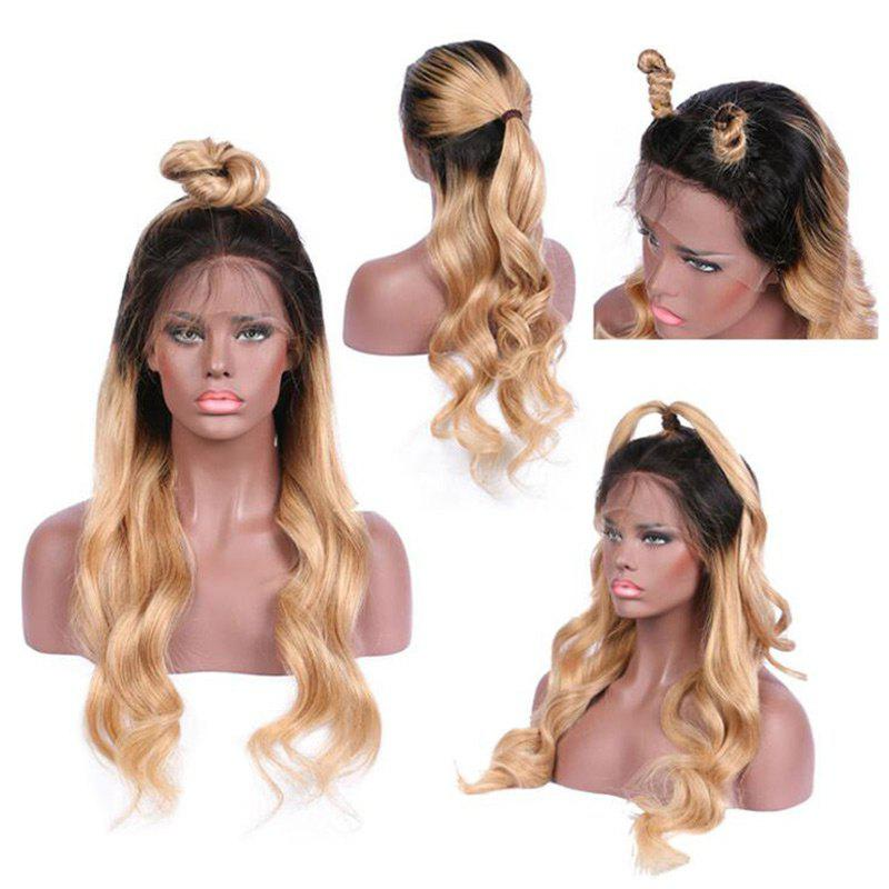 Long Free Part Wavy Ombre Synthetic Lace Front Wig long free part fluffy kinky curly synthetic lace front wig