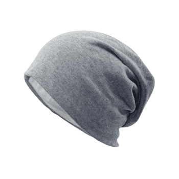 Outdoor Two Layers Thicken Lightweight Beanie - LIGHT GREY