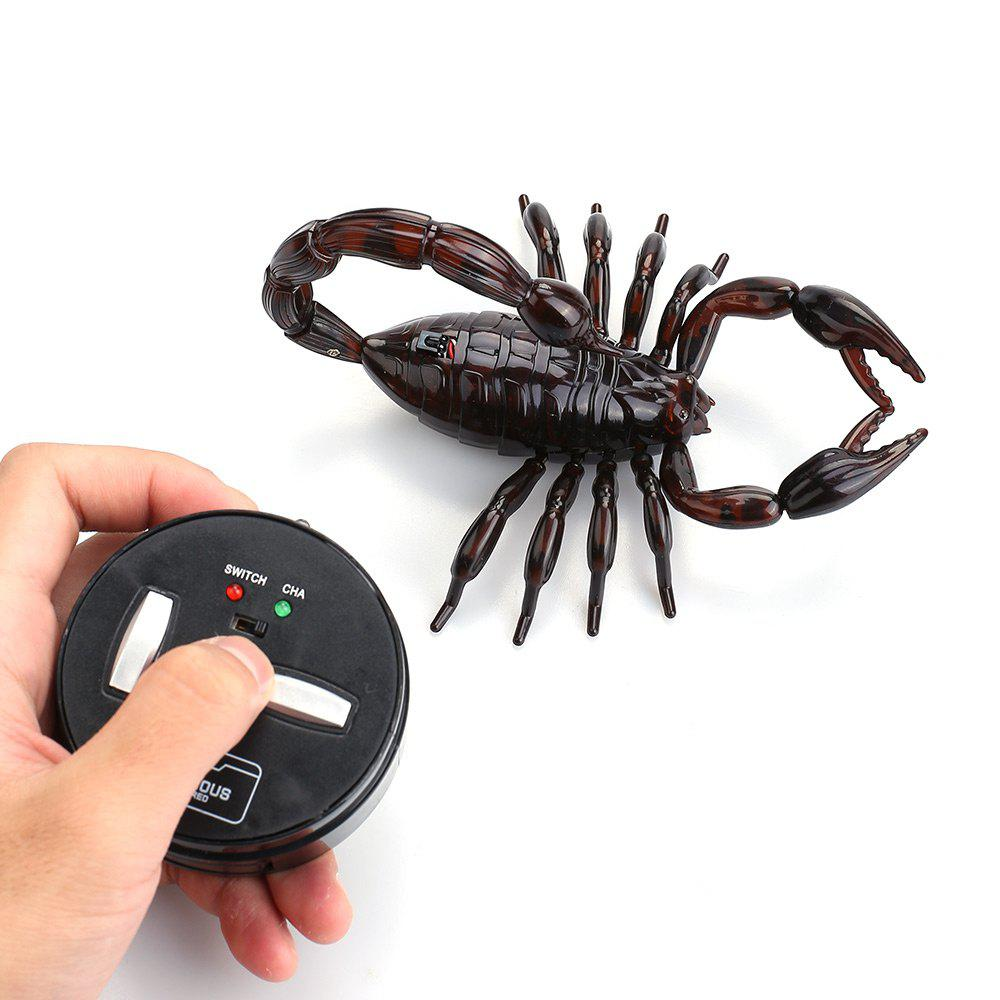 Creative Electronic RC Simulation Scorpio Prank Joke Toy creative simulation comadreja toy polyethylene