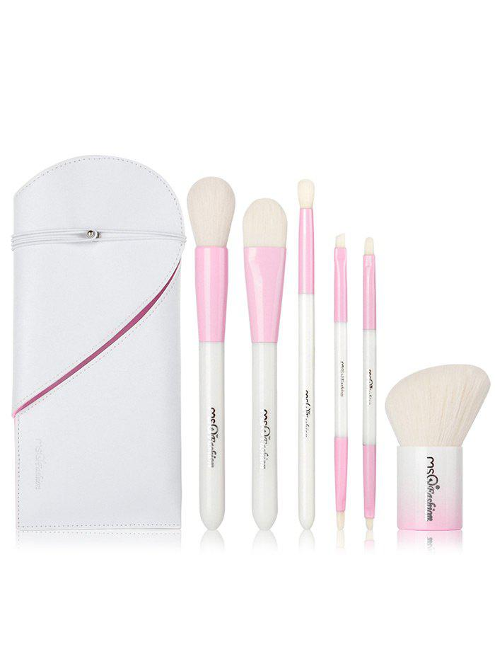 Portable Beauty Tools 6Pcs Makeup Brushes Set With Bag brand new s262dc b32 6pcs set with free dhl ems