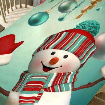 Christmas Snowman Pattern Table Cloth - COLORFUL W54 INCH * L72 INCH
