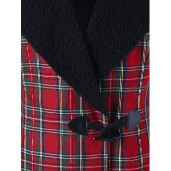 Horn Button Checked Jacket - CHECKED L