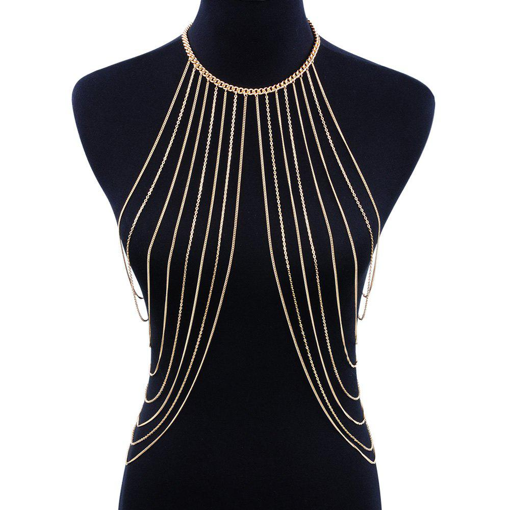 Layered Fringed Body Chain vintage fringed beach full body jewelry chain