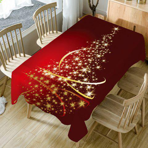 Starlight Christmas Tree Pattern Decorative Table Covers - COLORFUL W54 INCH * L54 INCH