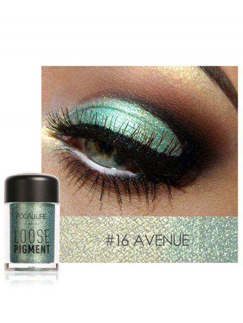 Professional Highly Pigmented Shimmer Glitter Eyeshadows Powder - 16