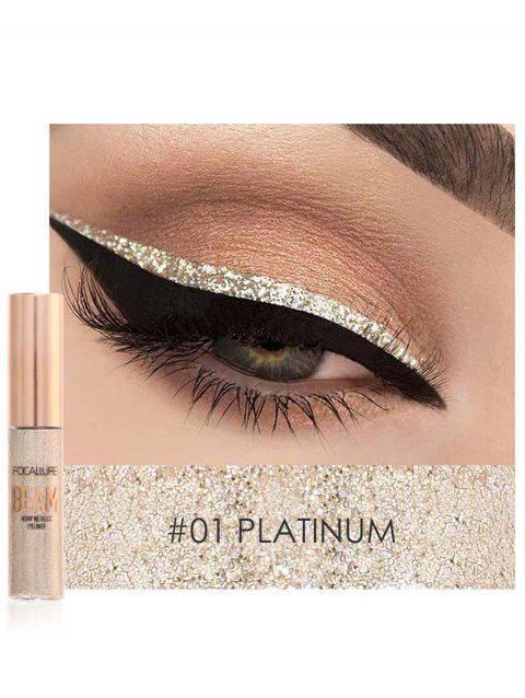 Professional Highly Pigmented Makeup Glitter Liquid Eyeshadow - 01