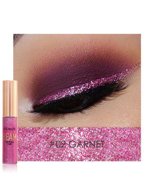 Professional Highly Pigmented Makeup Shimmer Liquid Eyeshadow - 02