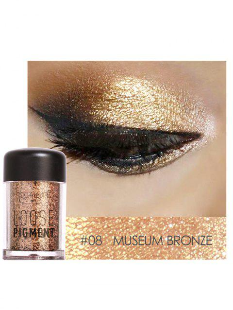 Professional Highly Pigmented Shimmer Glitter Eyeshadows Powder - 08