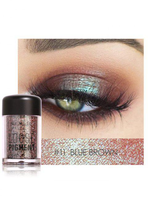 Professional Highly Pigmented Shimmer Glitter Eyeshadows Powder - 11