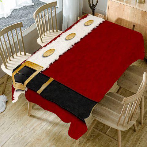 Christmas Belt Printed Table Cloth - COLORFUL W54 INCH * L54 INCH