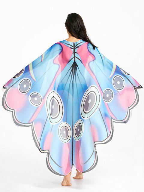 Jet de plage diaphane Sunbath Butterfly - multicolore ONE SIZE