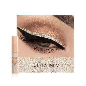 Professional Highly Pigmented Makeup Shimmer Liquid Eyeshadow - #01