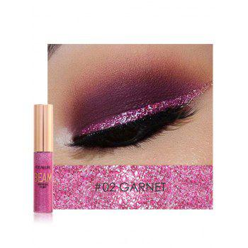 Professional Highly Pigmented Makeup Shimmer Liquid Eyeshadow - #02
