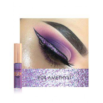 Professional Highly Pigmented Makeup Shimmer Liquid Eyeshadow - #04