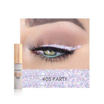 Professional Highly Pigmented Makeup Shimmer Liquid Eyeshadow