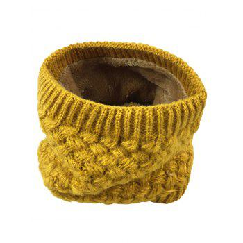 Outdoor Corn Shape Pattern Crochet Knitted Infinity Loop Scarf -  GINGER