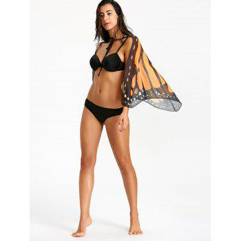 Chiffon Butterfly Wing Beach Cover Up - COLORMIX ONE SIZE