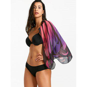 Butterfly Wing Beach Cover Up - COLORMIX ONE SIZE