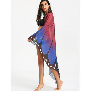 Flowy See Through Butterfly Beach Throw - COLORMIX ONE SIZE