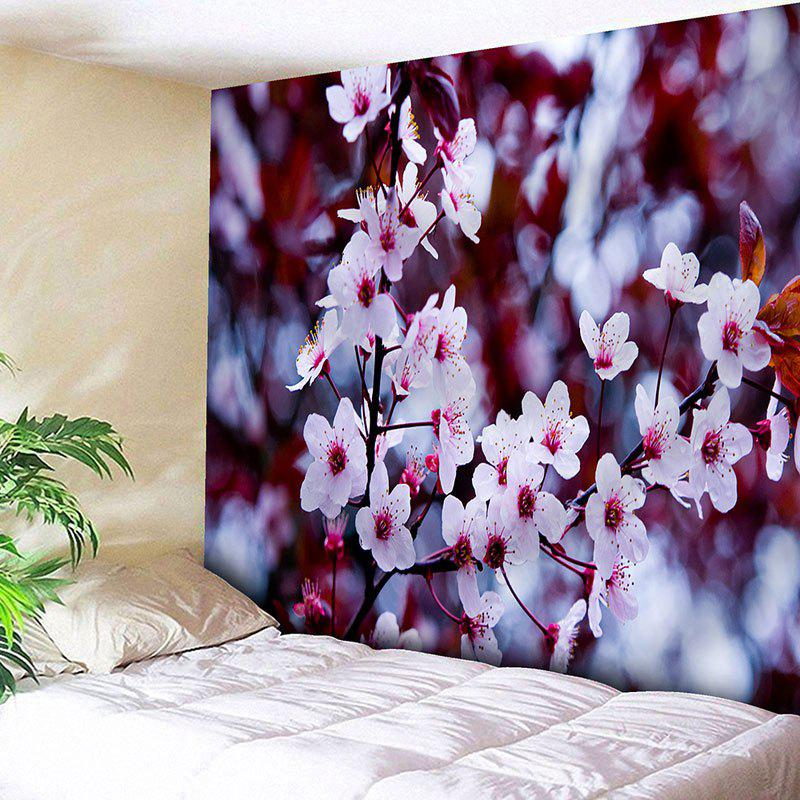 Flower Print Wall Hanging Tapestry flower print tapestry wall hanging decoration