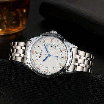 Montre en forme d'engrenage Date Alloy Watch - SILVER
