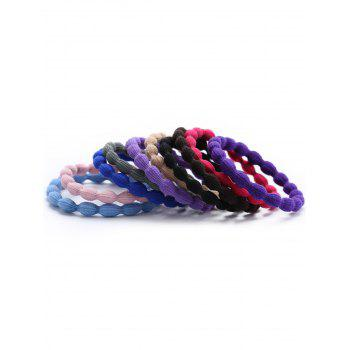 Multicolor Elastic Hair Band Set - COLORMIX