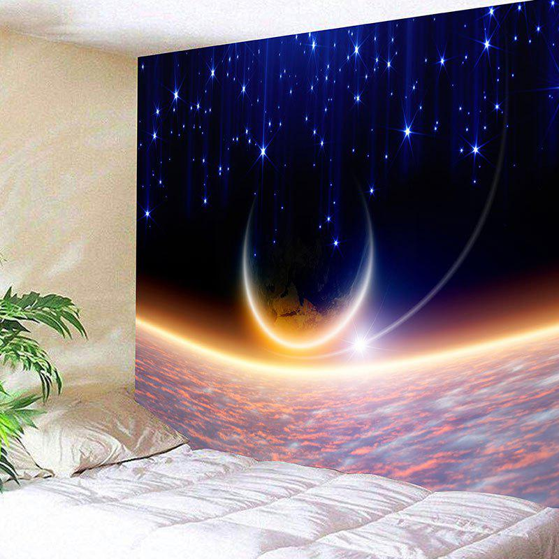Outer Space Printed Wall Hanging Tapestry wall hanging watercolor space throw tapestry