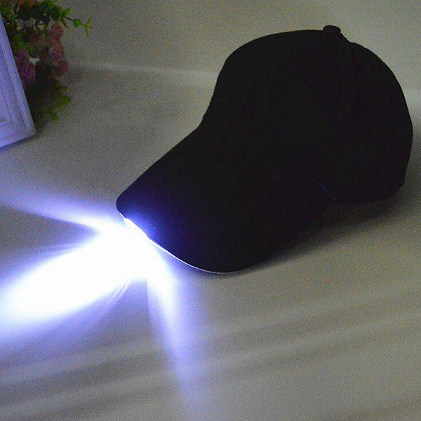 Night Fishing Camp Baseball Cap With LED Light рыболовный поплавок night fishing king 1012100014 mr 002