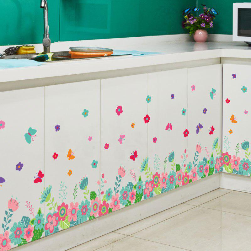 все цены на Butterfly Floral Pattern Wall Stickers