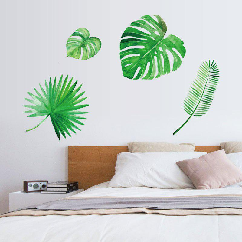 Tropical Leaf Wall Sticker - GREEN