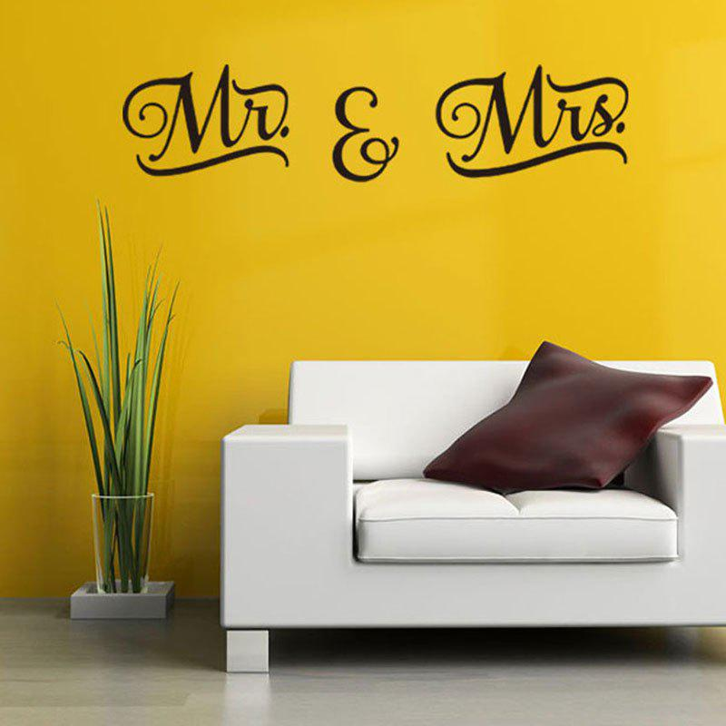 Letter Patterned Wall Art Decal family wall quote removable wall stickers home decal art mural