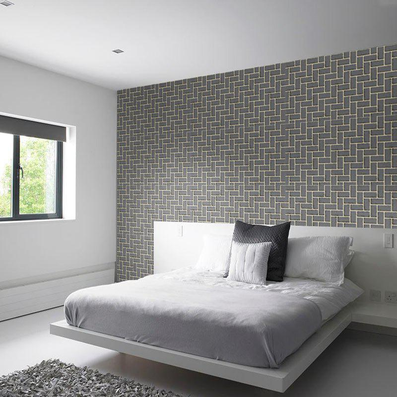 Retro Brick Pattern Removable Wall Cover Sticker brick pattern decorative wall cover sticker