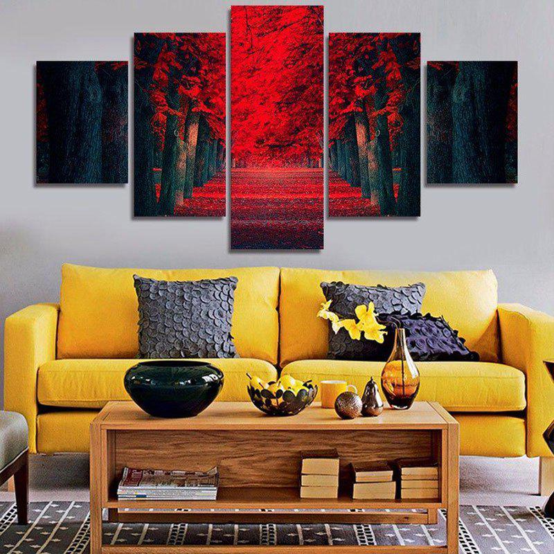 Artistic Woods Printed Unframed Canvas Paintings wall art sunset pyramids printed unframed canvas paintings