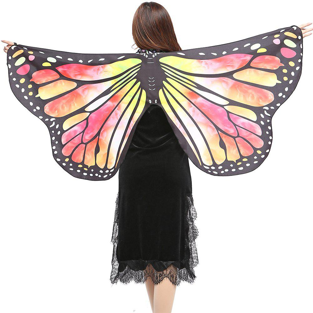 Elegant Butterfly Shape Chiffon Long Shawl Scarf - JACINTH