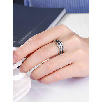 Unique Alloy Belt Ring - SILVER 9