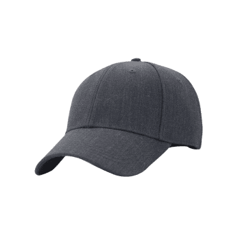 Outdoor Line Embroidery Adjustable Graphic Hat - DEEP GRAY