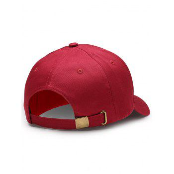 Funny WIFI No Signal Decoration Baseball Hat - WINE RED