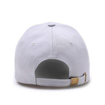 Outdoor Lightning Wifi Pattern Flat Graphic Hat - GRAY
