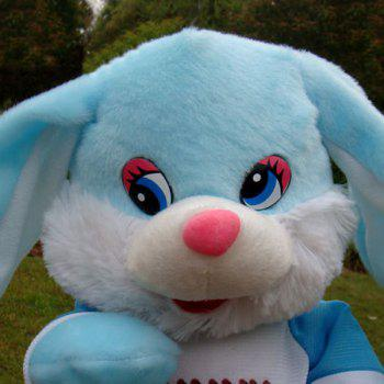 Stuffed Plush Toy Electric Funny Music Dancing Bunny - BLUE