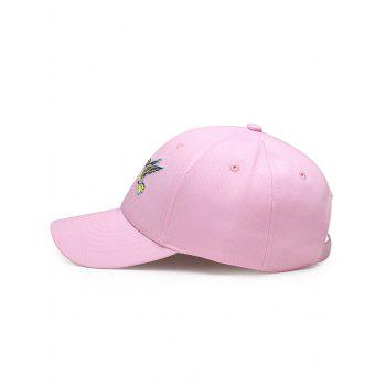Outdoor Birds Embroidery Decoration Baseball Cap -  PAPAYA