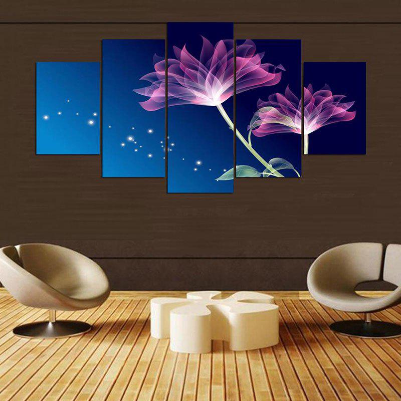 Art Flower Pattern Wall Decoration Unframed Canvas Paintings wall art wolf pattern unframed canvas paintings