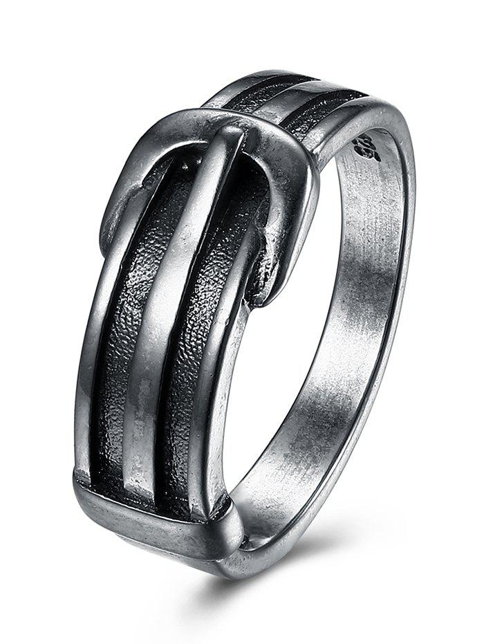 Unique Alloy Belt Ring - SILVER 7
