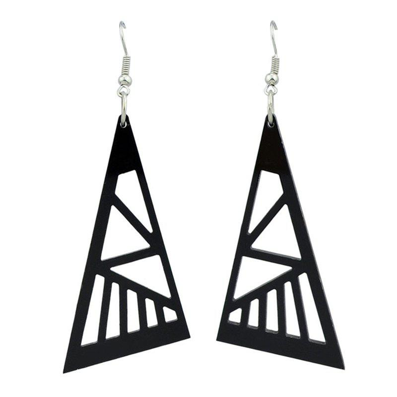 Simple Triangle Drop Hook Earrings vivitek h1186 wt кинотеатральный проектор