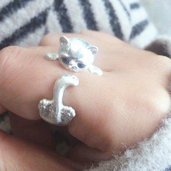 Kitten Cute Finger Ring