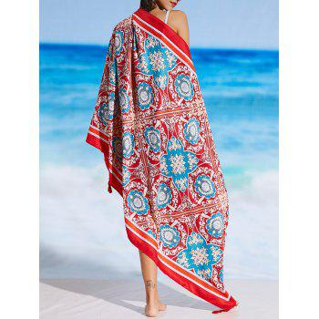 Sunbath Rectangle Tribal Print Beach Throw - COLORMIX COLORMIX