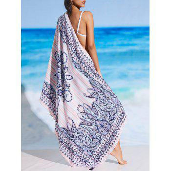 Tribal Pattern Rectangle Sunbath Beach Throw - FLORAL FLORAL