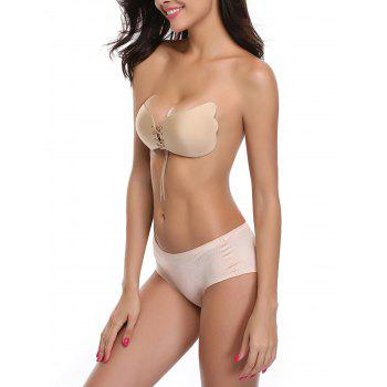 Backless Adhesive Push Up Bra - COMPLEXION CUP A