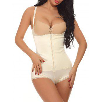 Underbust Zip Up Full Body Corset - COMPLEXION COMPLEXION