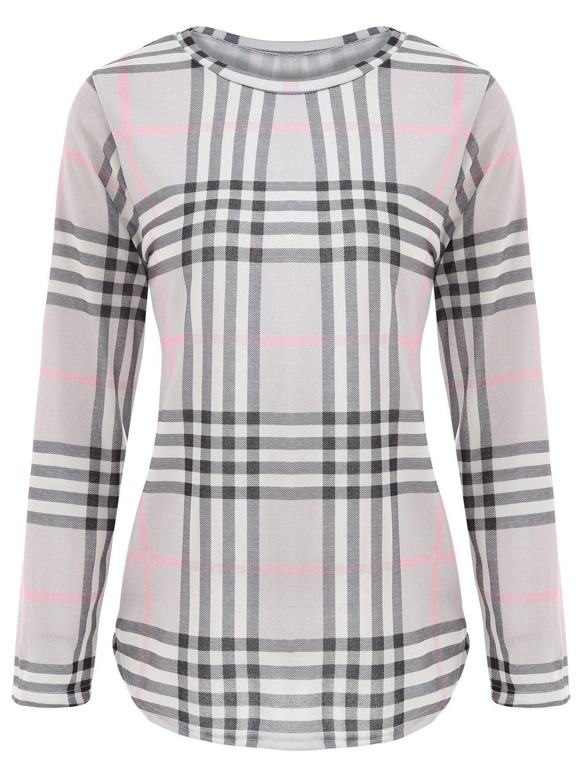 Tunic Plaid T-shirt